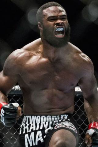 Tyron Woodley height and weight