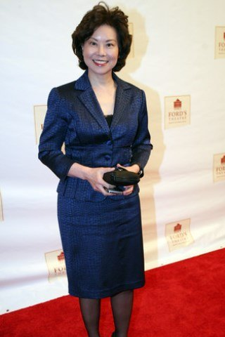 Elaine Chao height and weight
