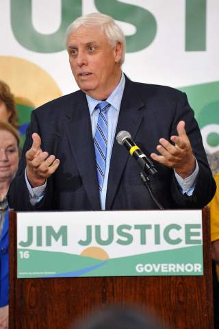 Jim Justice height and weight