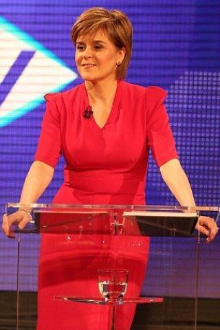 Nicola Sturgeon height and weight