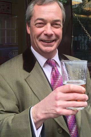 Nigel Farage height and weight