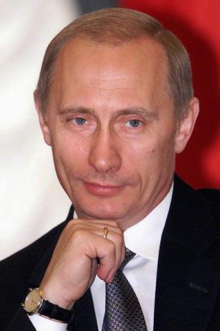 Vladimir Putin Height – Weight