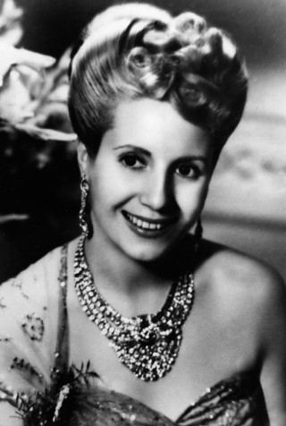 Eva Peron height and weight