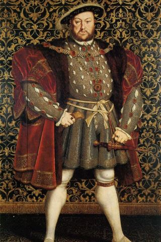 Henry VIII height and weight
