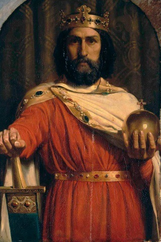 Charlemagne (king) Height