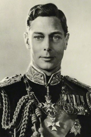 King George VI height and weight