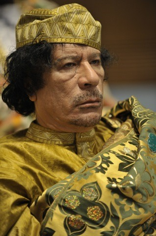 Muammar Gaddafi Height