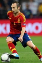 Andres Iniesta Height – Weight